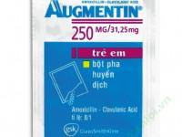 Công dụng, cách dùng thuốc Augmentin 250mg