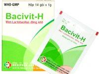 Công dụng và cách dùng thuốc Bacivit H
